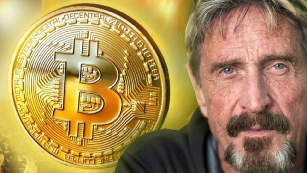 John McAfee Makes Another Controversial Remark About Bitcoin