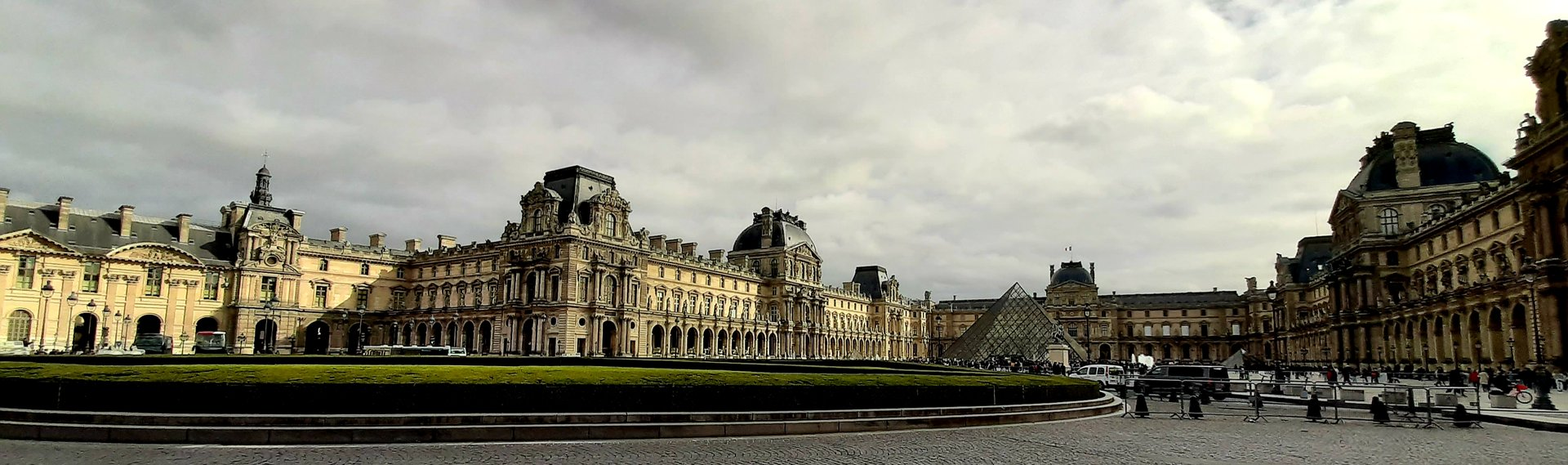 The Louvre And Tuileries Jardin